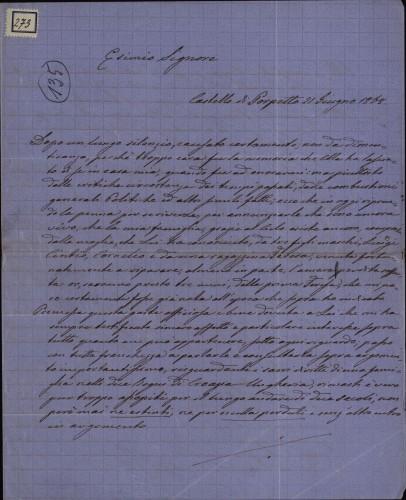 273 | Pismo Antigona Frangipana Ivanu Kukuljeviću