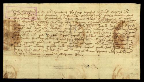 V-40: Kralj Sigismund odgađa sa 6.-13.I.1430. predočenje dokumenata Elizabete od Zabočine i Katice i Klare od Jakopovca u parnici s gradom Varaždinom