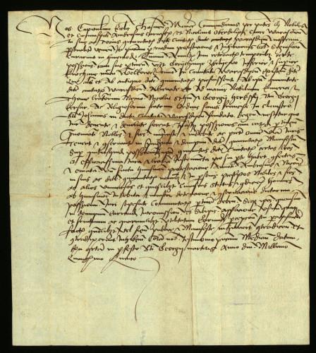 XII-164: Čazmanski kaptol izjavljuje, da su zastupnici grada Varaždina uložili pred njim prostest, protiv nekih plemića i franjevaca radi prisvajanja posjeda Goričan, Zbelava, Kučani i Velkovec.