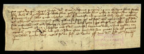 II-12: Kraljica Marija Terezija osuđuje radi ogluhe plemića od Jakopovca i Kneginca u sporu s gradom Varaždinom