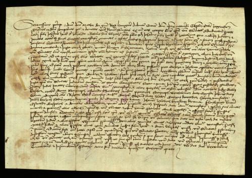 X-133: Zagrebački kaptol izvješćuje kralja Matiju Korvina, da je pozvao pred njega za 25.07-01.08. 1464. grad Varaždin u parnici s Ladislavom od Zajezde i Elizabetom od Zabočine.