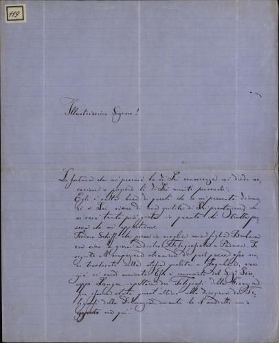 119 | Pismo Ivana Capogrosso Kavanjina Ivanu Kukuljeviću