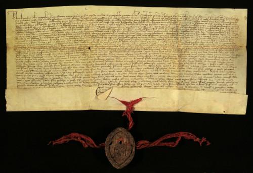 IV-31: Zagrebački kaptol prepisuje i potvrđuje svoju ispravu od 6.X.1372., kojom se određuju međe između posjeda grada Varaždina i posjeda Trnovca