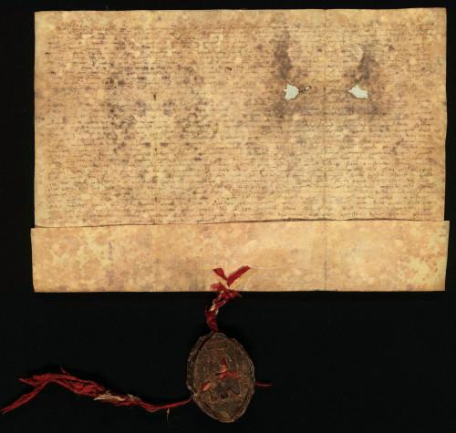 II-9: Zagrebački kaptol prepisuje i potvrđuje ispravu od 1.VI. 1371., u kojoj je transumirana isprava kralja Ludovika I. od 7.V. 1371. koje se odnose na uređenje međa posjeda u Varaždinskoj županiji.