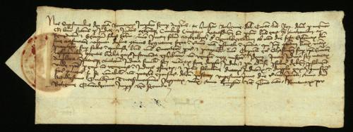 VI-74: Kralj Sigismund osuđuje radi ogluhe plemiće od Bartolovca u parnici s gradom Varaždinom.