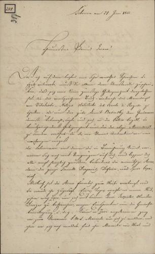 298 | Grivičićevo pismo Ivanu Kukuljeviću