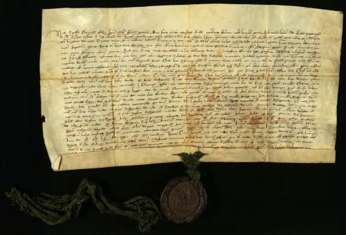 I-4: Čazmanski kaptol prepisuje i potvrđuje darovnicu Bele IV. varaždinskom građanskomu Kureju iz god. 1261.