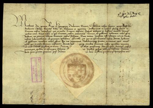 IX-115: Kralj Matija Korvin nalaže Katarini Celjskoj da prisili sve kućevlasnike u gradu Varaždinu da snose gradske terete.