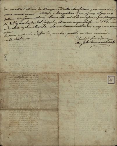 94 | Pismo Angela Bonvecchiata Ivanu Kukuljeviću