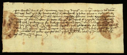 V-43: Kralj Sigismund osuđuje radi ogluhe Jurja, sina Herka od Zajezde, u parnici s gradom Varaždinom