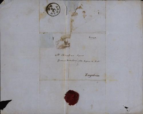 1224   Pismo Giuseppea Valentinellia Ivanu Kukuljeviću
