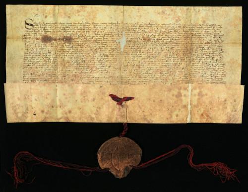III-16: Kralj Sigismund prepisuje i potvrđuje ispravu kralja Ludovika od 10.IV.1373., kojom Ludovik prepisuje i potvrđuje svoju ispravu od 13.VI 1357., kojom oslobađa grad Varaždin od sudbenosti župana varaždinskoga
