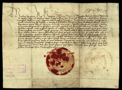 IX-117: Kralj Matija Korvin nalaže banu Ivanu Vitovcu, varaždinskomu županu i plemićkim sucima, da jobagione grada Varaždina ne smiju siliti na plaćanje podavanja.