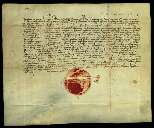 IX-113: Kralj Ladislav V. nalaže varaždinskom županu i plemičkim sucima, da nesmiju suditi gradu Varaždinu u parnici sa susjednim plemićima, već da je grad podvrgnut sudu palatina ili nadbiskupa ostrogonskoga.