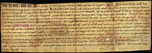 I-2: Bela mladi kralj (Bela IV.) potvrđuje Varaždinu povlastice slobodnoga grada, koje mu je podijelio g. 1209. njegov otac Andrija II