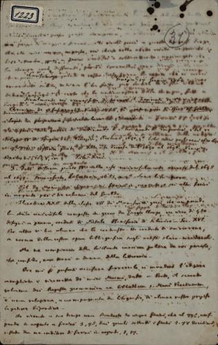 1223   Pismo Giuseppea Valentinellia Ivanu Kukuljeviću