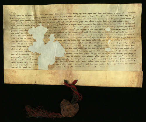II-7: Kralj Stjepan V. prepisuje i potvrđuje ispravu Bele IV. iz g. 1242., kojom Bela IV. potvrđuje povlastice Varaždina