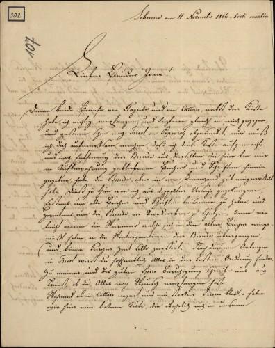 302 | Grivičićevo pismo Ivanu Kukuljeviću