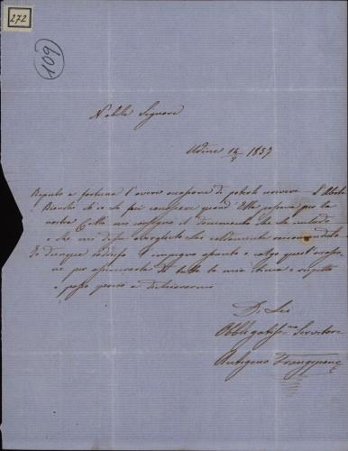 272 | Pismo Antigona Frangipana Ivanu Kukuljeviću