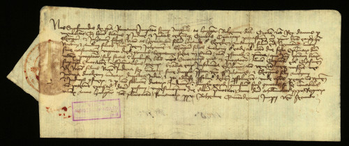 VI-75: Kralj Sigismund osuđuje radi ogluhe plemiće od Grebena u parnici s gradom Varaždinom.
