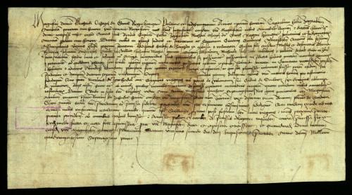 XI-147: Zagrebački kaptol izvješćuje Mihajla Orsag de Guth, da je izvršio njegovu molbu od 19.11.1470., koju donosi u prijepisu, te je utvrdio, da je Ladislav Hršerkfy od Zajezde dao oteti sijeno grada Varaždina.