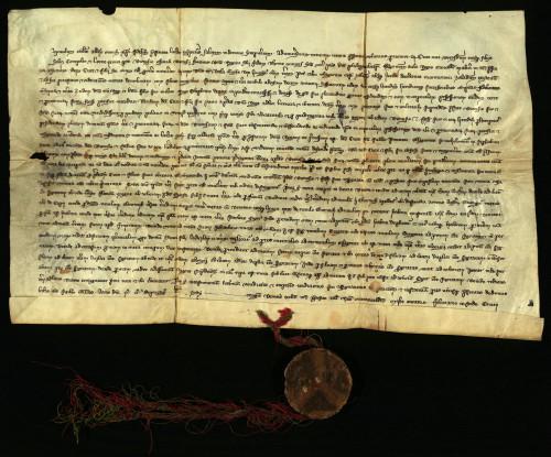 I-5: Stolnobiogradski kaptol potvrđuje zamjenu zemlje u Zaladskoj županiji varaždinskog građanina Kureja s palačom i pet kurija u Varaždinu Dionizija, oficijala kraljičinog dvorjanika Dionizija.
