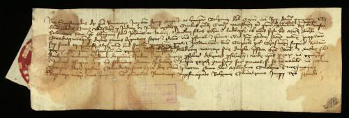 VI-72: Kralj Sigismund osuđuje radi ogluhe Jurja, Nikolu i Andriju od Ludbrega u parnici s gradom Varaždinom.