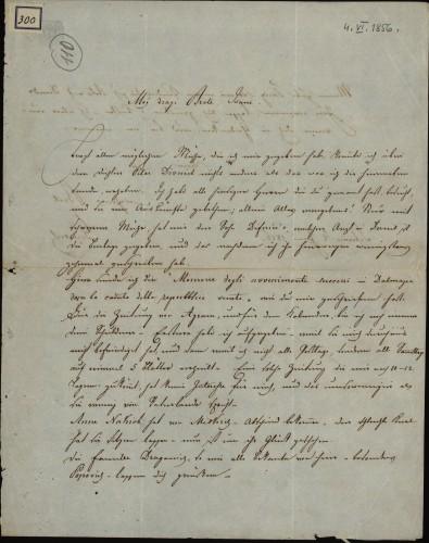 300 | Grivičićevo pismo Ivanu Kukuljeviću