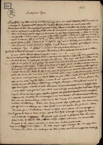 321 | Pismo dr. Giovannija Gurata Ivanu Kukuljeviću