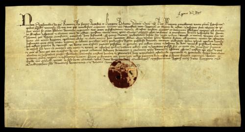IV-30: Kralj Sigismund potvrđuje gradu Varaždinu pravo na zemljišta i posjede, među njima: zemlje stećene zamjenom s Ivanovcima, pola otoka kod sela Vorofo, Kneginec i pola šume Plink