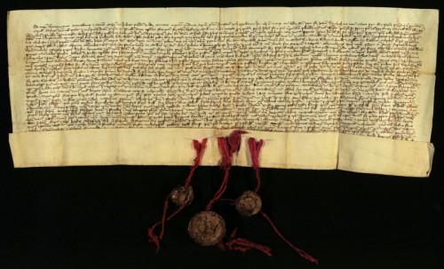 II-15: Toma, podban i župan križevački, i plemićki suci Križevačke županije prepisuje i potvrđuje sljedeće isprave:; 1.Kralja Žigmunda od 16.IV 1390., kojom određuje pravo nasljedstva sestrama i kčerima Urgovanovim i ; 2.Emirika Bubek od 10.XI. 1391., kojom prepisuje i potvrđuje ispravu Čazmanskog kaptola od 14.XII. 1390., u kojoj je transumirana Žigmundova isprava od 23.IV 1390., koje se odnose na naslj