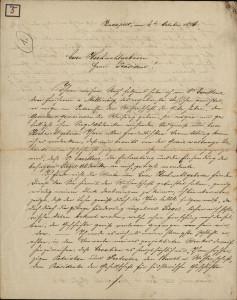 5 | Pismo Gustava Altenburgera Ivanu Kukuljeviću