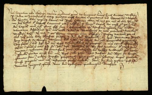 VI-63: Čazmanski kaptol izvješćuje, da rješenje parnice između grada Varaždina i zagrebačkog kapotola odgađa dso 29.09.-06.10. 1430.