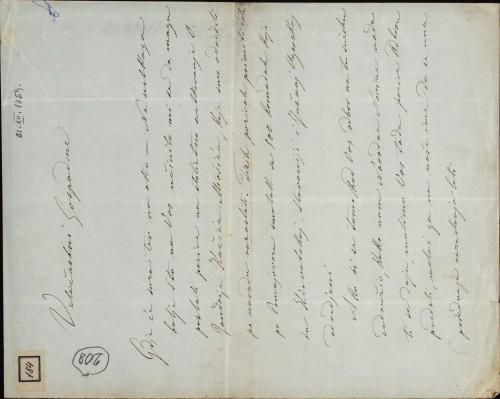 184   Pismo Ivana Danila Ivanu Kukuljeviću
