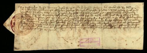 VI-70: Kralj Sigismund odgađa do 13.01.1435. predočenje dokumenata Jurja i Ivana, sinova Herka od Zajezde u parnici s gradom Varaždinom.
