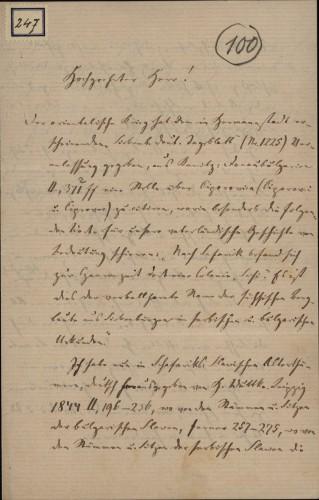 247 | Pismo Karla Fabritiusa Ivanu Kukuljeviću